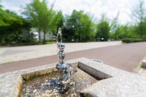 破産、トイレの洗面台の水も飲む
