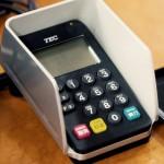 J-Debitカードの使い方、端末へ暗証番号を入力