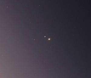 金星、木星、火星が大接近