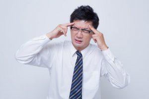 熱中症、寝不足で作業中に頭痛、めまいがして、車で3時間休みました。