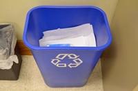 ちり紙用のゴミ箱