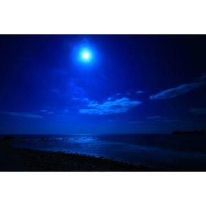 スーパームーン、夜中のほうが月との距離が近い