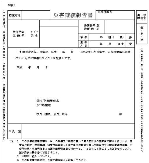 日本 スポーツ 振興 センター 給付 金