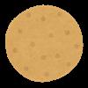 縄文クッキー、藁の灰汁であく抜き