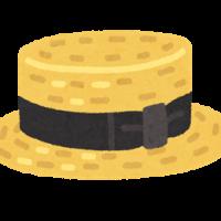 帽子、タイヤを送る