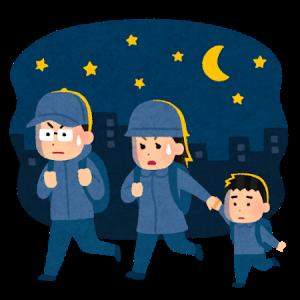 夜逃げする家族