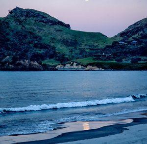 陸地、砂浜で投網を投げる