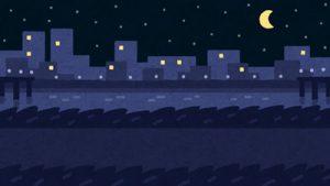 夜間の投網は大型の魚が捕れる